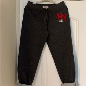 Abercrombie and Fitch ladies size M sweatpants